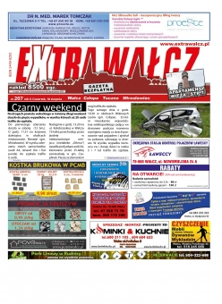 ExtraWałcz 207 - czwartek, 18 sierpnia 2016 - 16 stron