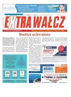 ExtraWałcz 274 - czwartek, 21 grudnia 2017 - 24 stron