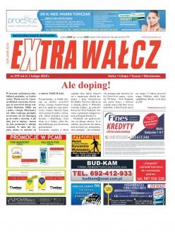 ExtraWałcz 279 - czwartek, 1 lutego 2018 - 16 stron