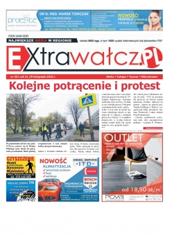 ExtraWałcz 321 - czwartek, 29 listopada 2018 - 16 stron