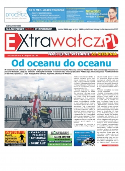 ExtraWałcz 354 - czwartek, 7 sierpnia 2019 - 16 stron